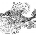 Mandala delfin