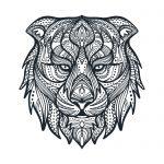 mandala de leon