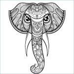mandala de elefante