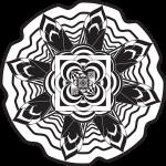 Mandala flor dificil