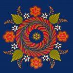 Mandala flores coloreado